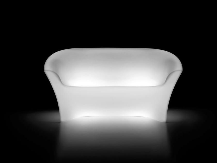3 seater polyethylene sofa OHLA SOFA LIGHT by Plust