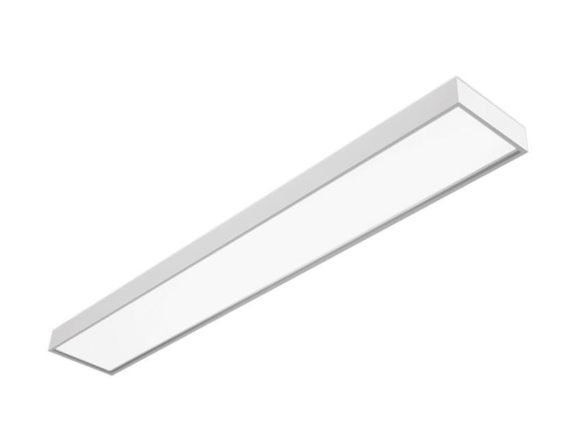 LED direct light steel ceiling light OK 5953 MO by Metalmek