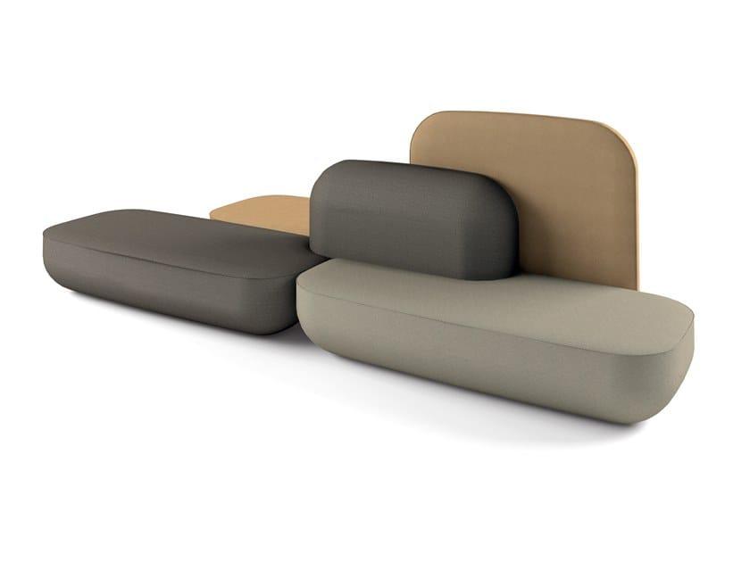 Sectional modular sofa OKOME O07 by Alias