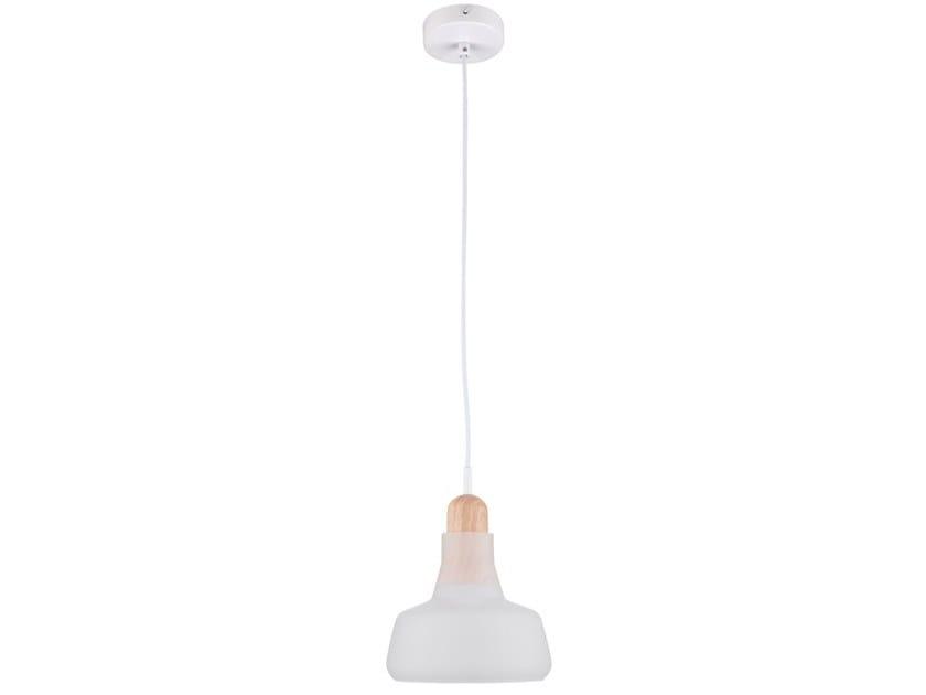 Glass pendant lamp OLA by MAYTONI
