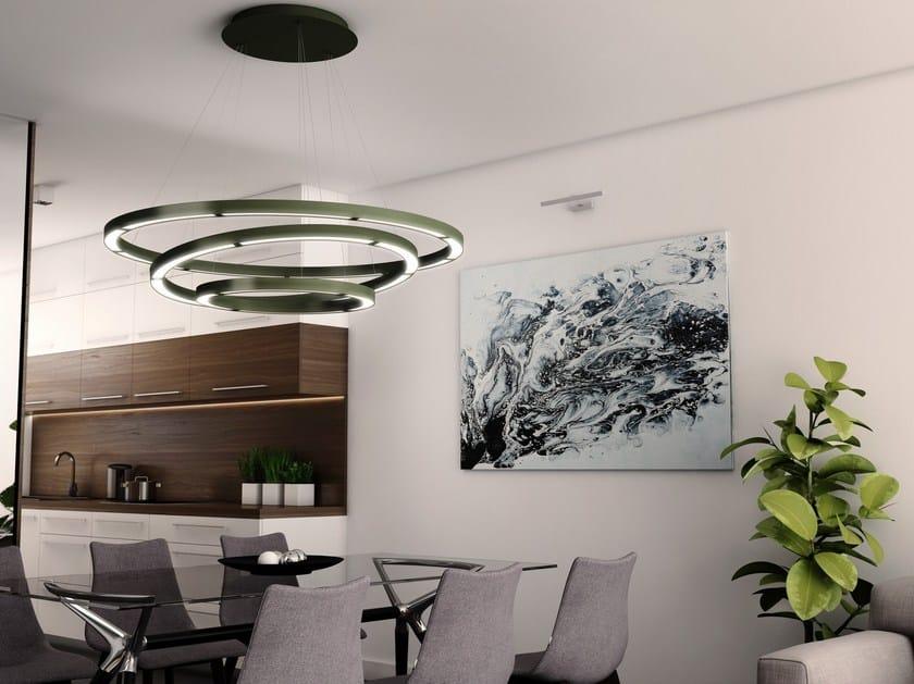 Diretta Oleant Olala E In Alluminio Indiretta Sospensione A Lampada Led Combo Luce iuOPkZTX