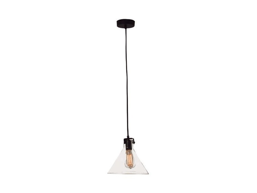 Glass pendant lamp OLD by Aromas del Campo