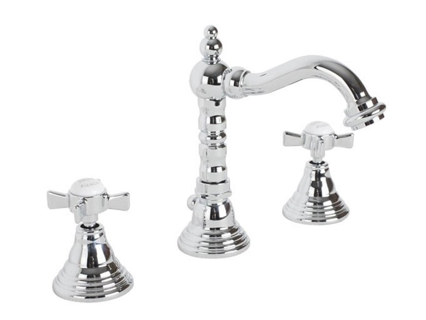 3 hole countertop washbasin tap OLD ENGLAND | 3 hole washbasin tap by BIANCHI RUBINETTERIE