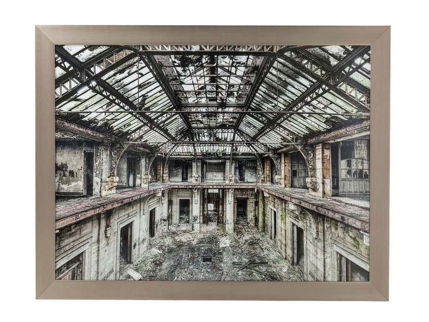Photographic print OLD FACTORY by KARE-DESIGN