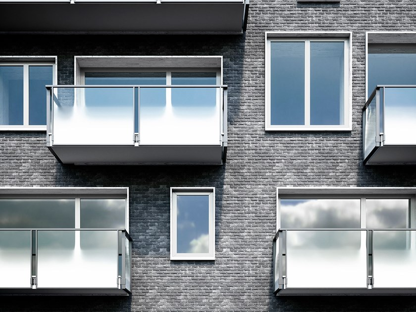 Window railing OLIMPIA VETRO by FARAONE