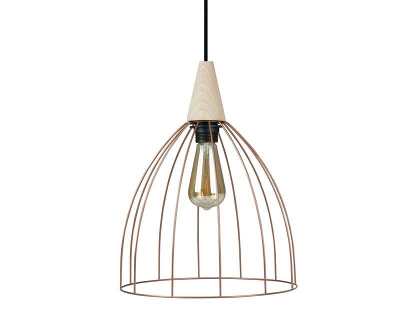 Metal pendant lamp OLIVA by LUZ EVA