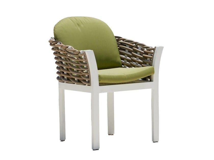 Sedia da giardino con braccioli OLIVIA 23250 by SKYLINE design