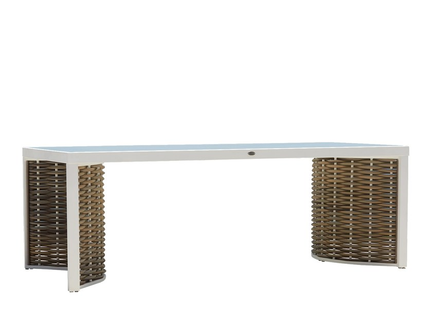 Rectangular table OLIVIA 23251 by SKYLINE design
