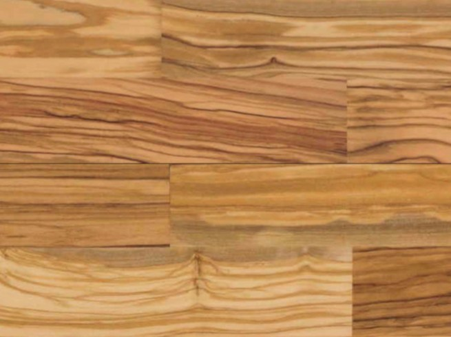 Brushed wooden parquet OLIVO by Valle d'Itria