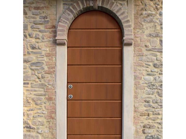 Arched safety door OLVERA by Scrigno
