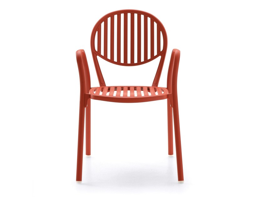 Aluminium garden chair with armrests OLYMPIA by FAST