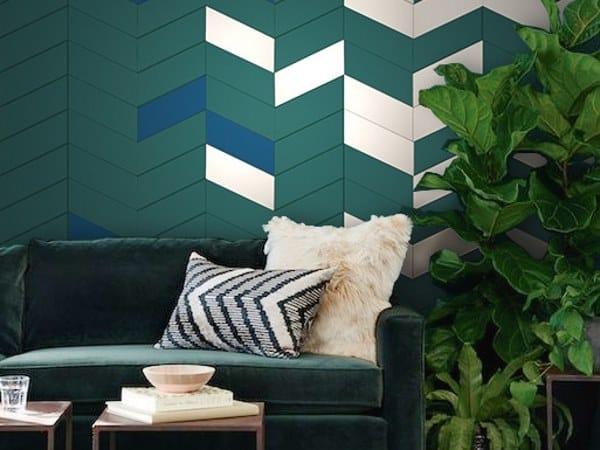 Indoor leather wall tiles OLYMPIA by Miyabi casa