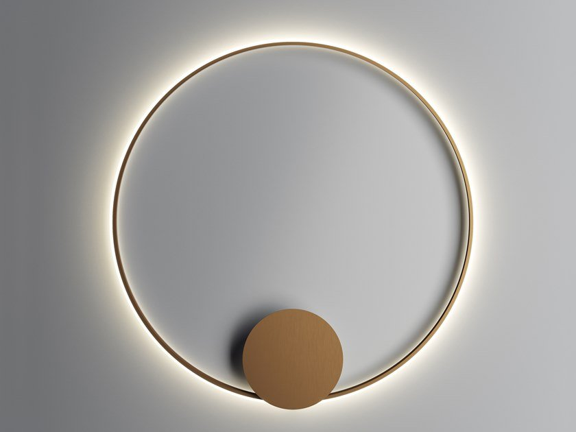 Powder coated aluminium wall lamp / ceiling lamp OLYMPIC | Wall lamp by Fabbian