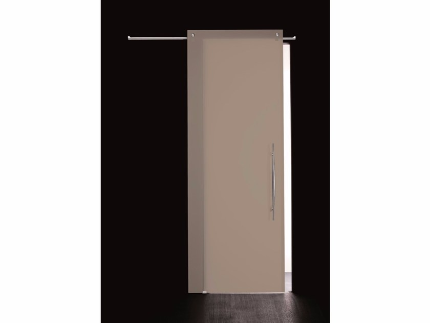 Stained glass sliding door COLOR OMBRA by Casali