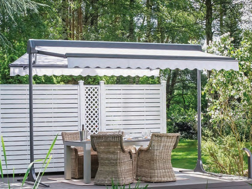 Freestanding box awning OMBRAMOBIL by STOBAG