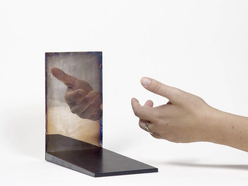 Contemporary style countertop rectangular mirror OMBRE PORTANTI by gumdesign