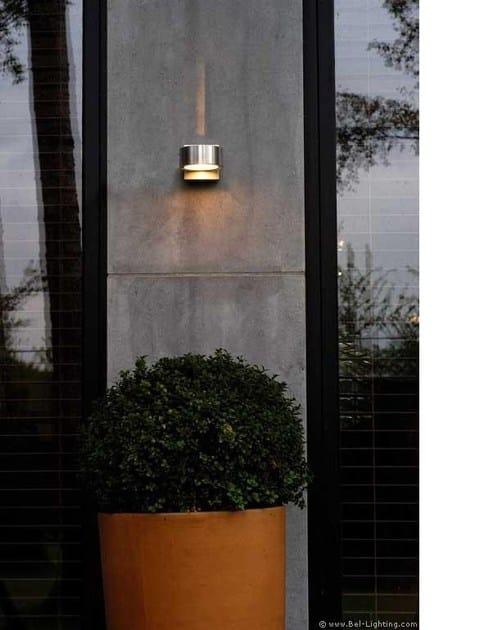 Applique a luce diretta e indiretta in alluminio anodizzato OMEGA 2 By BEL-LIGHTING oR0Q4T