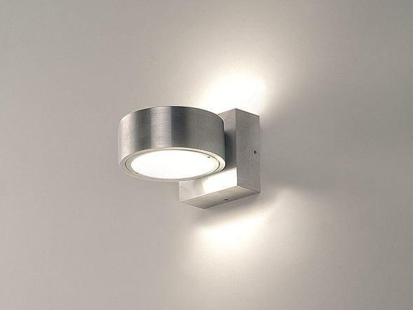 Aluminium wall light OMEGA 2 by BEL-LIGHTING