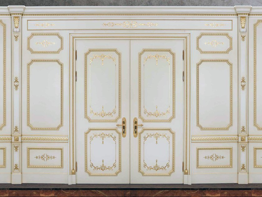 Hinged lacquered door OMEGA by Arnaboldi Interiors