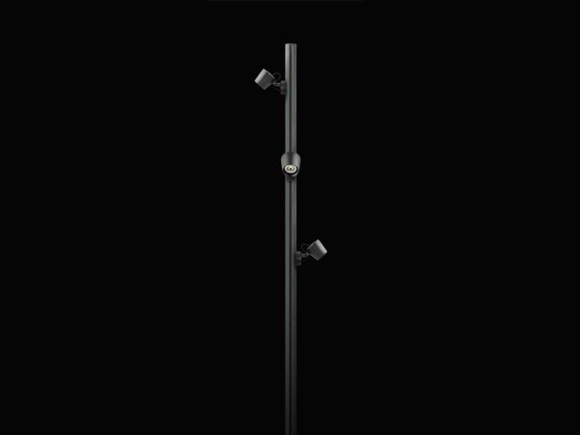 LED aluminium garden lamp post OMIKRON | Garden lamp post by Cariboni group