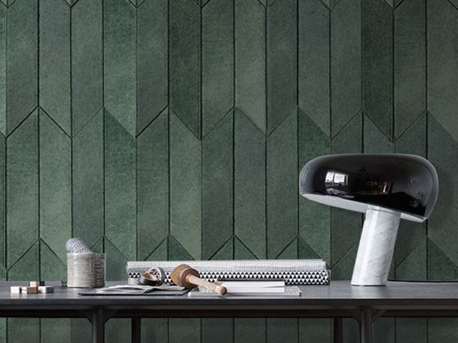 Indoor leather wall tiles OMNIA by Miyabi casa
