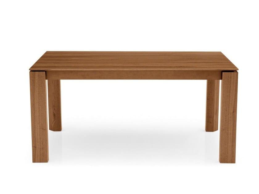 Rectangular table OMNIA | Rectangular table by Calligaris