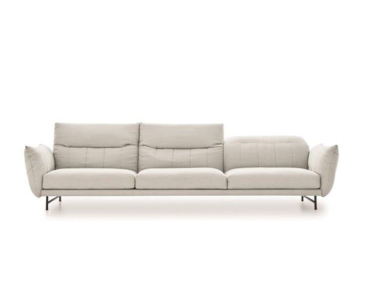 3 seater fabric sofa ON LINE   Fabric sofa by Ditre Italia