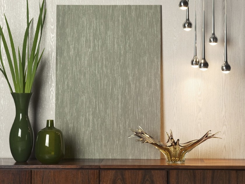 Washable nonwoven wallpaper ON THE ROCKS WOODGRAIN by Omexco