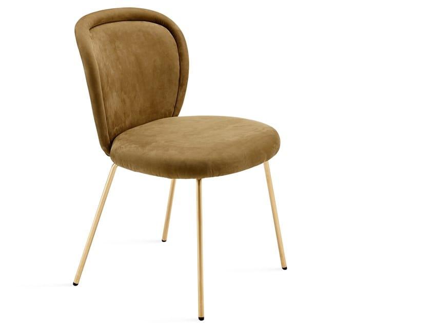 Fabric chair ONA CHAIR by Freifrau