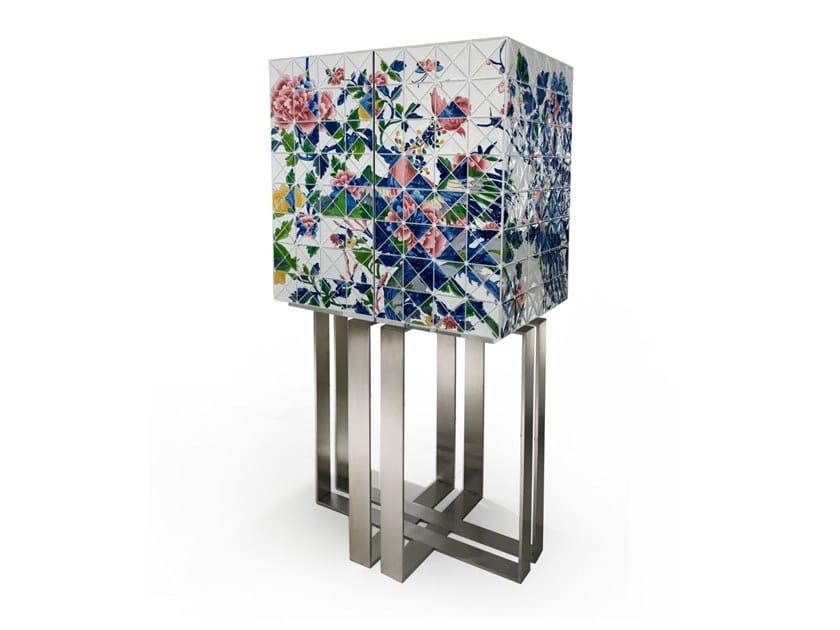 Porcelain highboard / bar cabinet ONCE UPON A TIME by Vista Alegre