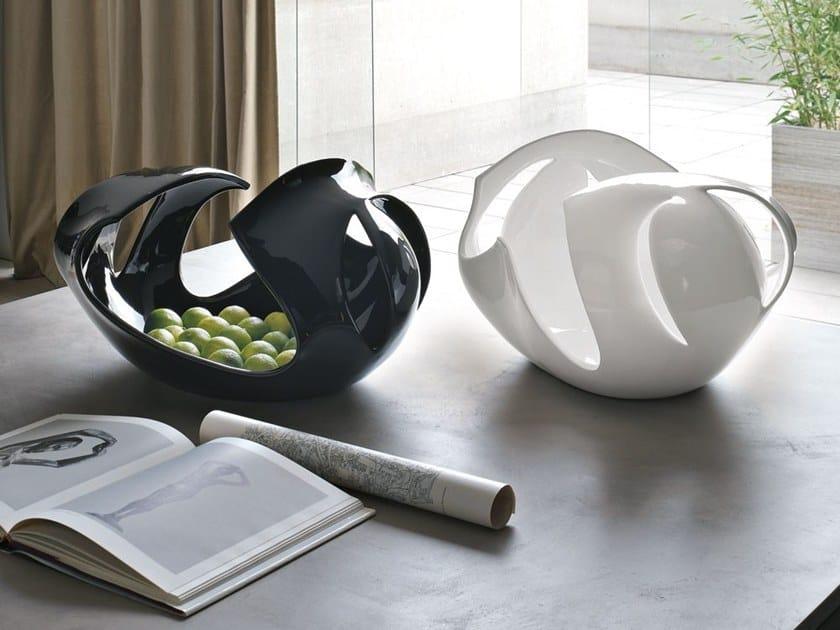 Centro de mesa de cerâmica ONDA by Adriani e Rossi edizioni