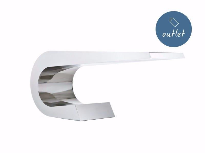 Scrivania in acciaio inox ONDA C MINI by Lamberti Design