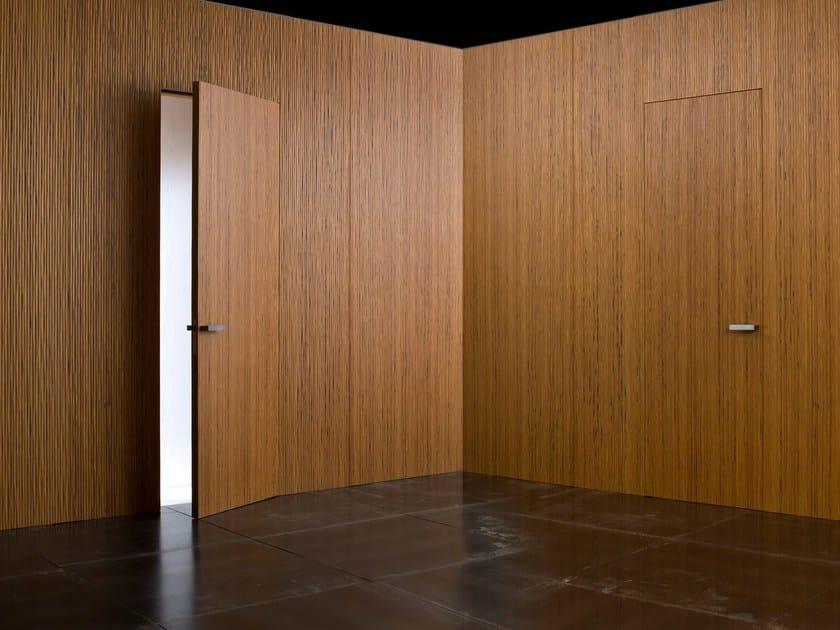 Boiserie in legno ONDA By Laurameroni design Paolo Rizzatto