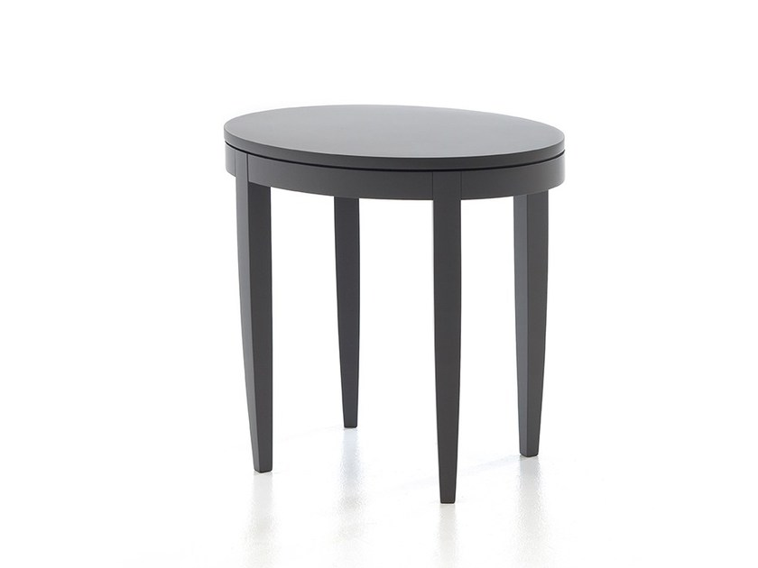 Round wooden coffee table ONDA T01 by Very Wood