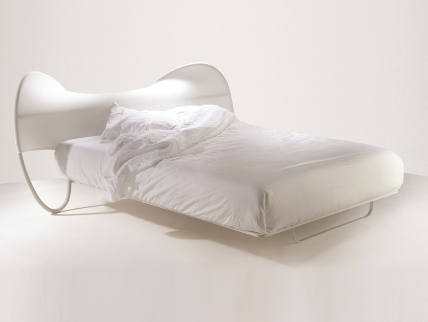 Iron double bed ONDA TRE by Barel