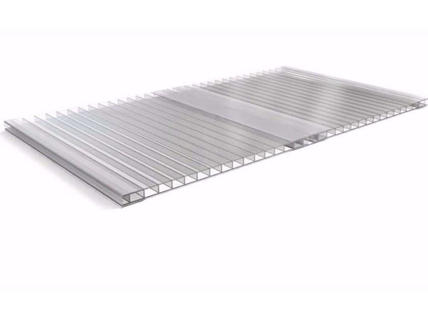 Roof panel in translucent plastic laminate ONDUCLAIR PCMW by ONDULINE ITALIA