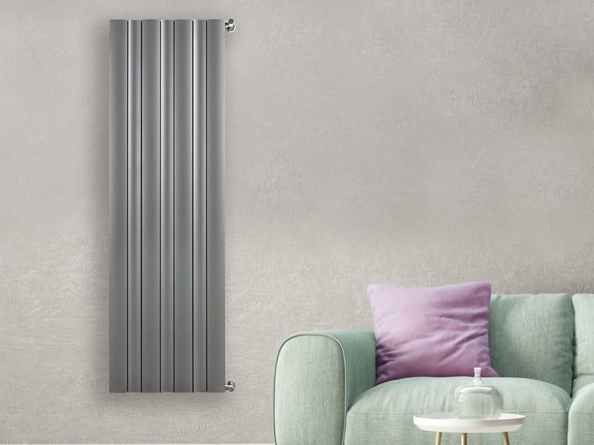 Wall-mounted radiator ONDULATO by RIDEA