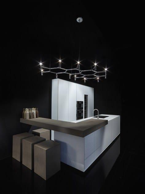 ONE | Corian® kitchen By RIFRA