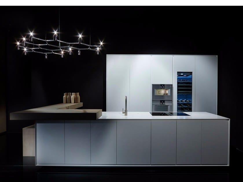 Corian® kitchen with island ONE   Corian® kitchen by RIFRA