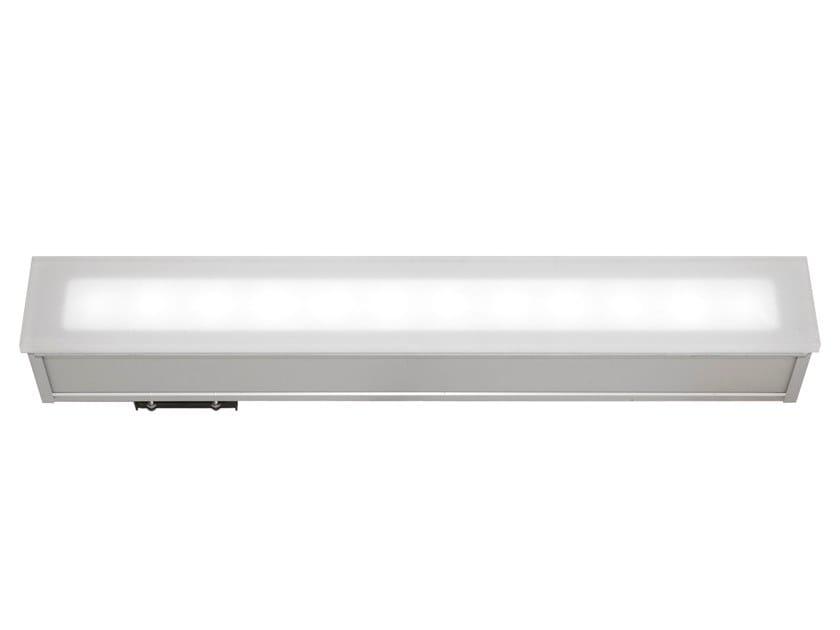Faretto per esterno a LED in alluminio da incasso ONE LIGHT LED 2037 by Metalmek