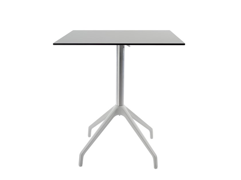 Drop-leaf aluminium contract table ONE | Table by Vela Arredamenti