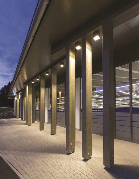 ONE | Applique per esterno ONE - Applique per esterni da parete o soffitto in alluminio con luce radente