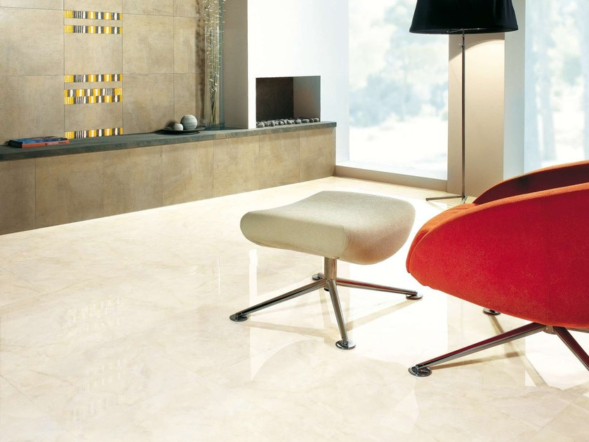 Porcelain stoneware wall tiles / flooring ONICE by Museum