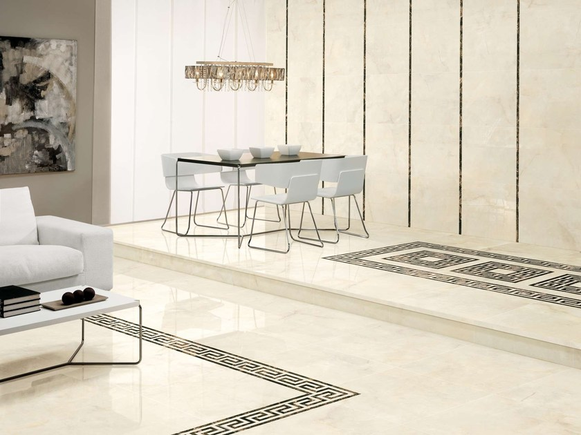 Porcelain stoneware wall/floor tiles OPALO by Museum