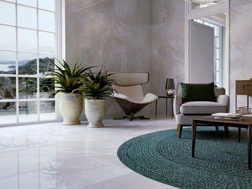 Pavimento/rivestimento in gres porcellanato effetto pietra ONICI by Casalgrande Padana