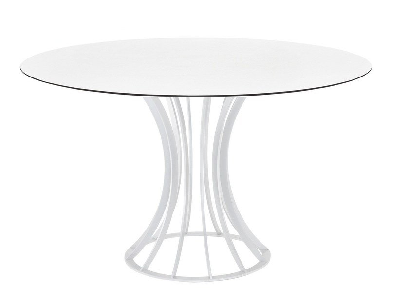 Round garden table ONIX ROUND by Papatya