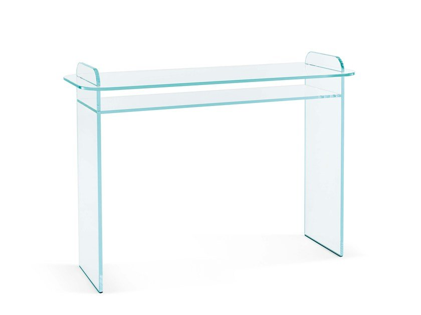 Opal glass console table OPALINA | Console table by Tonelli Design