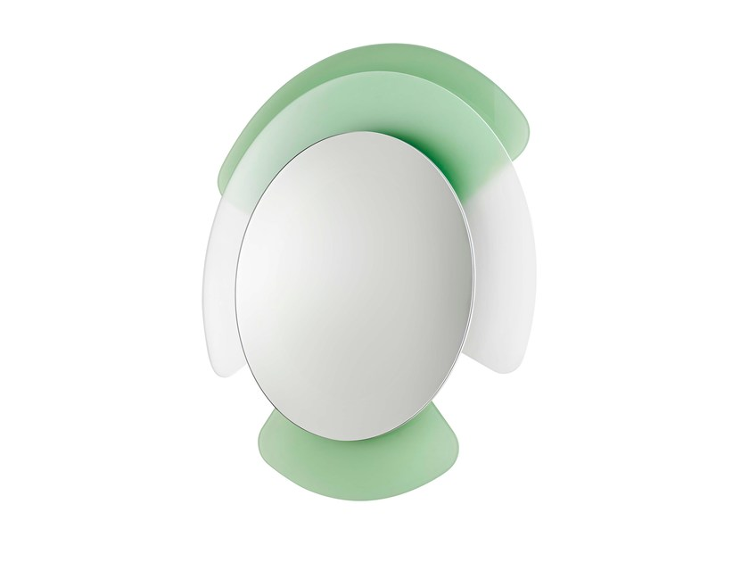 Wall-mounted mirror OPALINA | Mirror by Tonelli Design
