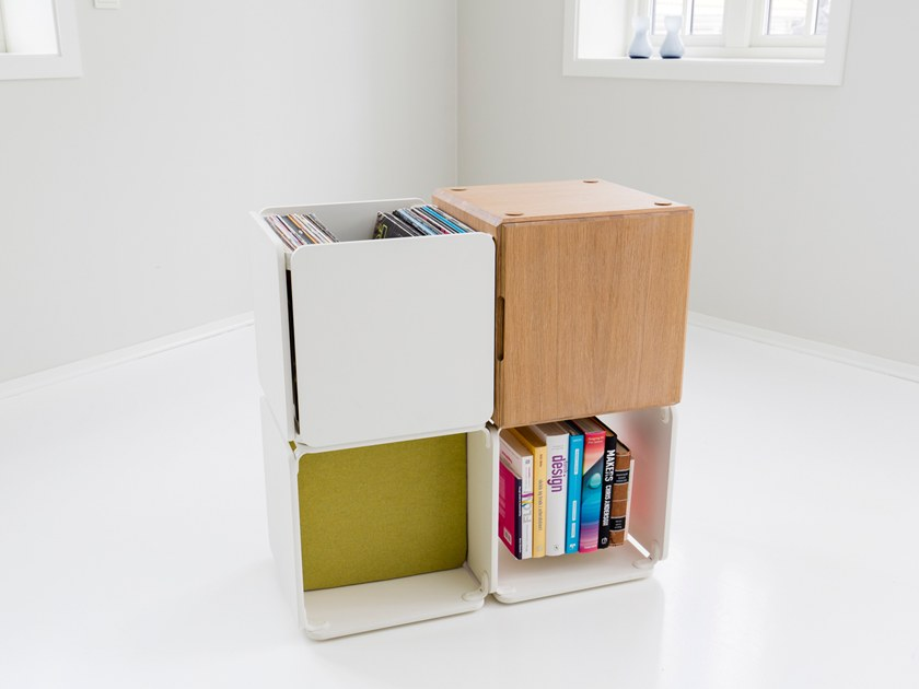 Modular kids bookcase OPE CONFIG™ HOME KIDS BOOKCASE by Ope
