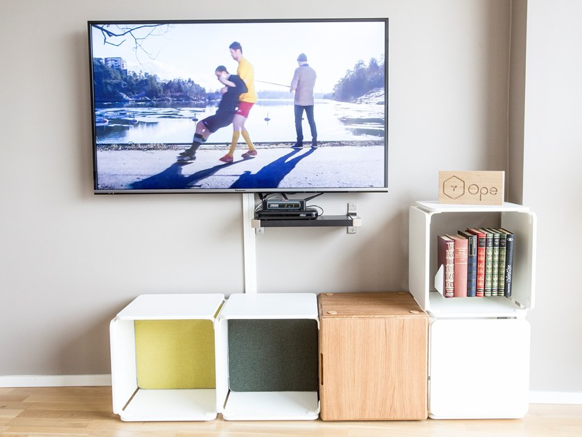 Modular TV cabinet OPE CONFIG™ HOME TV CABINET by Ope